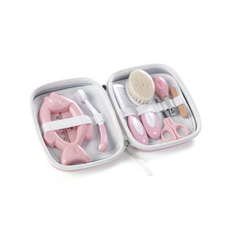 Set de Higiene con neceser de Jané (rosa)