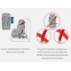 Silla Thunder Isofix 1/2/3 de Be Cool