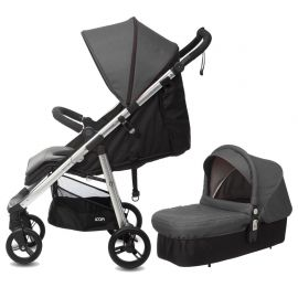 Silla LOOPi City + Capazo Cot de casualplay