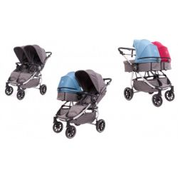 Easy Twin 4 Baby Monsters Silla Gemelar de paseo
