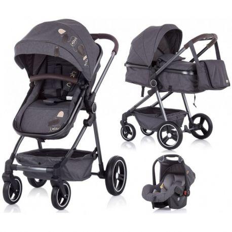 Noah de Chipolino | Carrito de bebé trío convertible