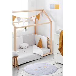 Estructura Cama Montessori + somier + barandilla de BimBicasual