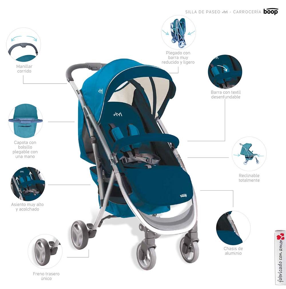 Comprar silla de paseo yiyi de asalvo tienda para beb s for Silla yiyi asalvo